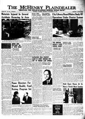 McHenry Plaindealer (McHenry, IL), 19 Nov 1964