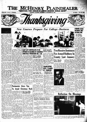 McHenry Plaindealer (McHenry, IL), 25 Nov 1964