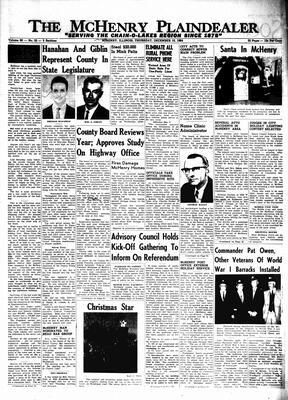 McHenry Plaindealer (McHenry, IL), 10 Dec 1964