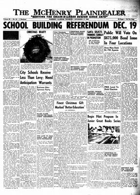 McHenry Plaindealer (McHenry, IL), 17 Dec 1964