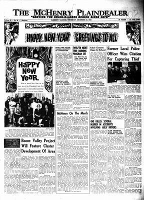 McHenry Plaindealer (McHenry, IL), 31 Dec 1964