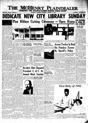 McHenry Plaindealer (McHenry, IL), 7 Jan 1965