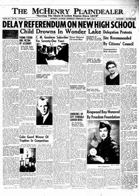 McHenry Plaindealer (McHenry, IL), 25 Feb 1965