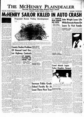 McHenry Plaindealer (McHenry, IL), 11 Mar 1965