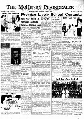 McHenry Plaindealer (McHenry, IL), 25 Mar 1965