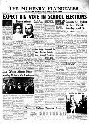 McHenry Plaindealer (McHenry, IL), 8 Apr 1965