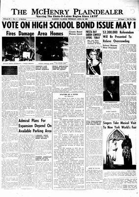 McHenry Plaindealer (McHenry, IL), 29 Apr 1965