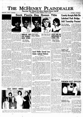 McHenry Plaindealer (McHenry, IL), 13 May 1965