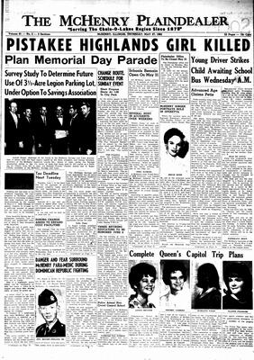McHenry Plaindealer (McHenry, IL), 27 May 1965