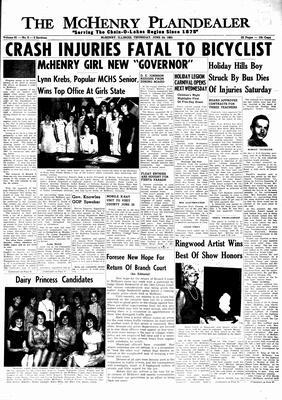 McHenry Plaindealer (McHenry, IL), 24 Jun 1965
