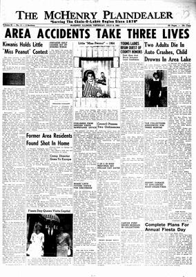 McHenry Plaindealer (McHenry, IL), 8 Jul 1965