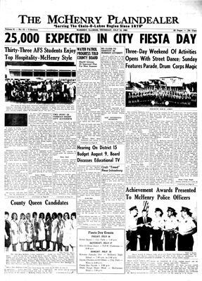 McHenry Plaindealer (McHenry, IL), 15 Jul 1965