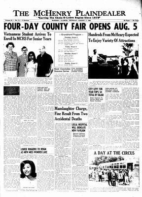 McHenry Plaindealer (McHenry, IL), 5 Aug 1965