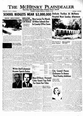 McHenry Plaindealer (McHenry, IL), 19 Aug 1965