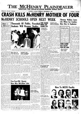 McHenry Plaindealer (McHenry, IL), 2 Sep 1965