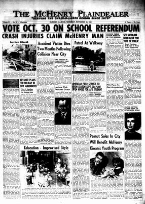 McHenry Plaindealer (McHenry, IL), 23 Sep 1965