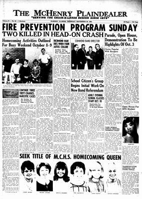 McHenry Plaindealer (McHenry, IL), 30 Sep 1965