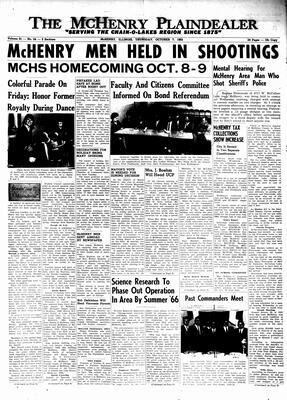 McHenry Plaindealer (McHenry, IL), 7 Oct 1965