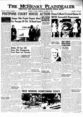 McHenry Plaindealer (McHenry, IL), 14 Oct 1965