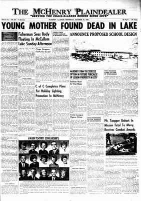 McHenry Plaindealer (McHenry, IL), 21 Oct 1965