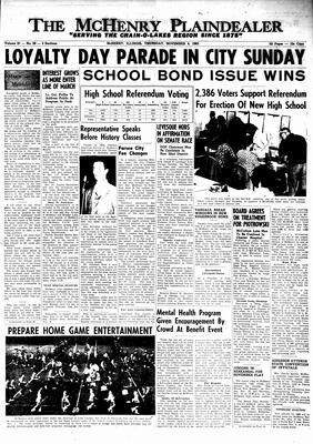 McHenry Plaindealer (McHenry, IL), 4 Nov 1965