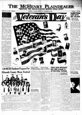 McHenry Plaindealer (McHenry, IL), 10 Nov 1965