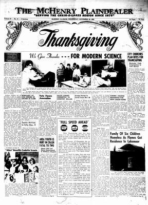 McHenry Plaindealer (McHenry, IL), 24 Nov 1965