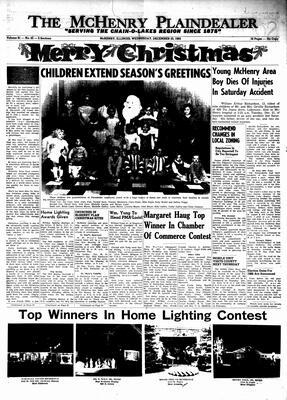 McHenry Plaindealer (McHenry, IL), 22 Dec 1965