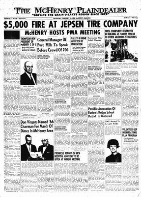 McHenry Plaindealer (McHenry, IL), 13 Jan 1966