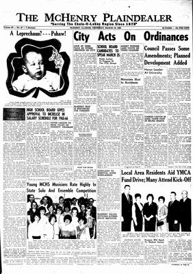 McHenry Plaindealer (McHenry, IL), 18 Mar 1965