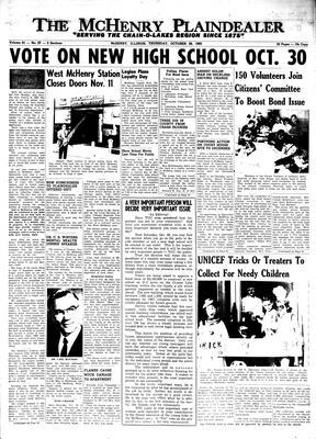 McHenry Plaindealer (McHenry, IL), 28 Oct 1965