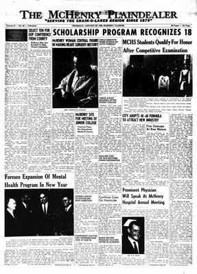 McHenry Plaindealer (McHenry, IL), 27 Jan 1966