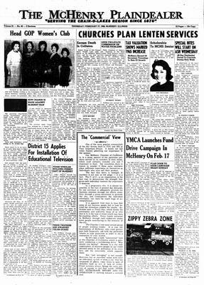 McHenry Plaindealer (McHenry, IL), 17 Feb 1966