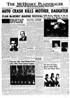 McHenry Plaindealer (McHenry, IL), 3 Mar 1966