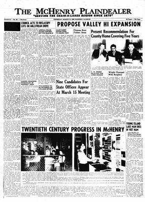 McHenry Plaindealer (McHenry, IL), 10 Mar 1966