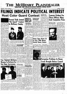 McHenry Plaindealer (McHenry, IL), 24 Mar 1966