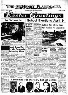 McHenry Plaindealer (McHenry, IL), 7 Apr 1966