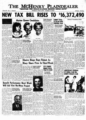 McHenry Plaindealer (McHenry, IL), 28 Apr 1966
