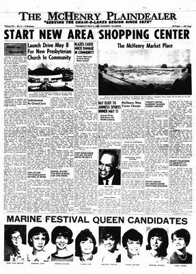 McHenry Plaindealer (McHenry, IL), 5 May 1966
