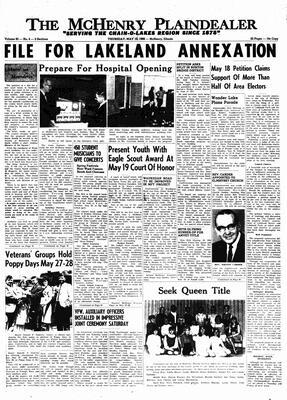McHenry Plaindealer (McHenry, IL), 19 May 1966