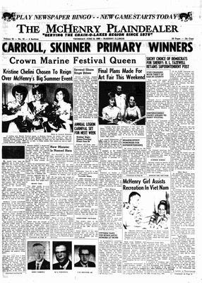 McHenry Plaindealer (McHenry, IL), 16 Jun 1966