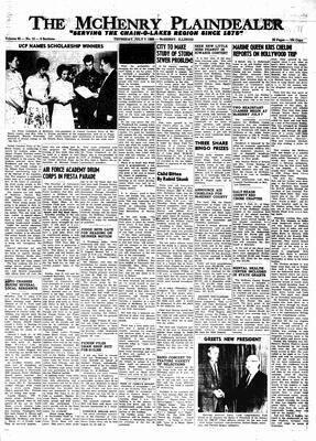 McHenry Plaindealer (McHenry, IL), 7 Jul 1966