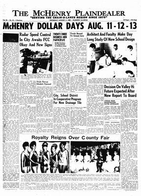 McHenry Plaindealer (McHenry, IL), 11 Aug 1966