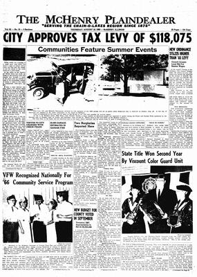 McHenry Plaindealer (McHenry, IL), 18 Aug 1966