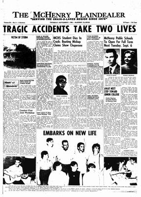 McHenry Plaindealer (McHenry, IL), 1 Sep 1966
