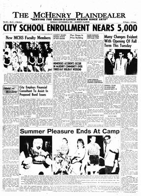 McHenry Plaindealer (McHenry, IL), 8 Sep 1966