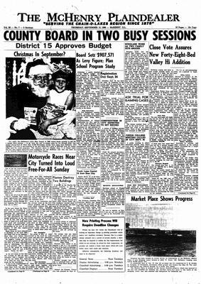 McHenry Plaindealer (McHenry, IL), 15 Sep 1966