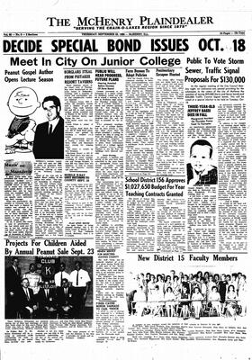 McHenry Plaindealer (McHenry, IL), 22 Sep 1966