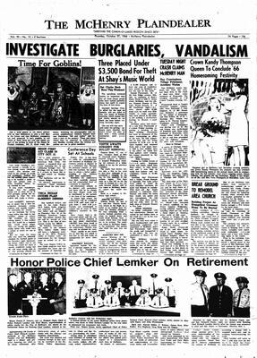 McHenry Plaindealer (McHenry, IL), 27 Oct 1966