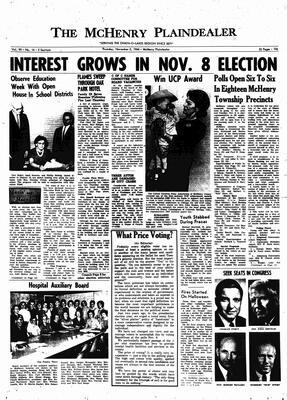 McHenry Plaindealer (McHenry, IL), 3 Nov 1966